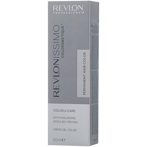 Купить Revlon Professional Revlonissimo Colorsmetique стойкая краска для волос, 7.12 блондин пепельно-переливающийся, 60 мл