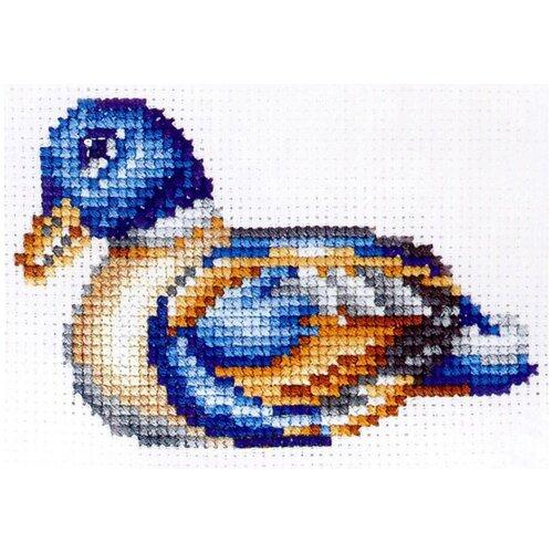 Сделай своими руками Набор для вышивания Статуэтки. Утка 10 x 12 см (С-40)