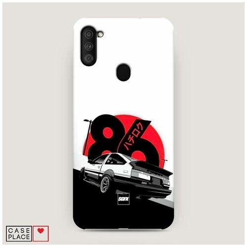 Чехол Пластиковый Samsung Galaxy A11 Toyota AE86