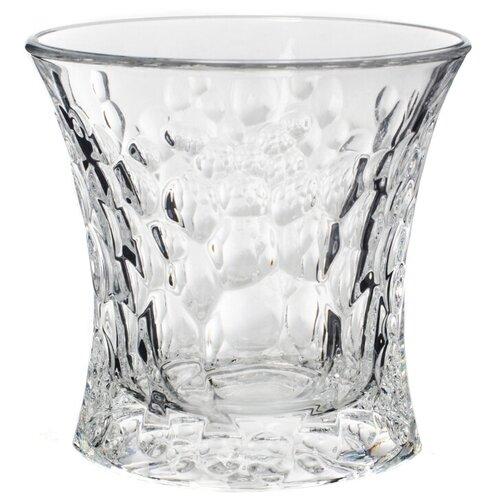 Crystal BOHEMIA Набор стаканов для виски Molecules 2 шт., 200 мл прозрачный