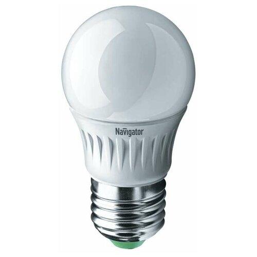Лампа светодиодная 94 479 NLL-P-G45-5-230-4K-E27 5Вт шар 4000К бел. E27 370лм 220-240В Navigator 94479 (упаковка 10 шт)