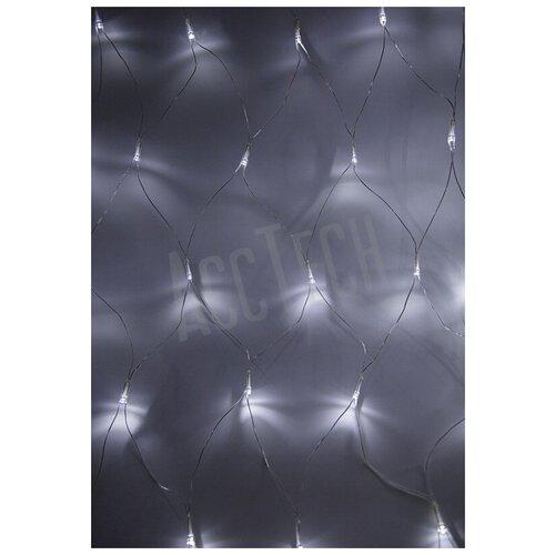 Фото - Гирлянда светодиодная NEON-NIGHT сеть 1,5х1,5 м белые диоды светодиодная уличная гирлянда бахрома neon night синего свечения 2 4х0 6 м 76 led