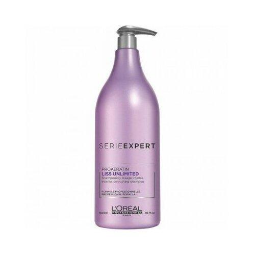 L'oreal professionnel liss unlimited shampoo - шампунь для непослушных волос 1500 мл l oreal professionnel liss unlimited маска разглаживающая для непослушных волос 250 мл