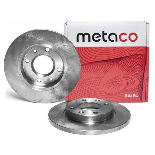 Диск тормозной передний не вентилируемый (Производитель: METACO 3100005)