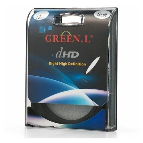 Фото - Светофильтр Green-L (Soft) - 72mm светофильтр green l soft 40 5mm