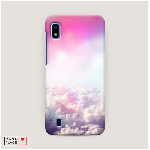 Чехол Пластиковый Samsung Galaxy A10 Постельные облака