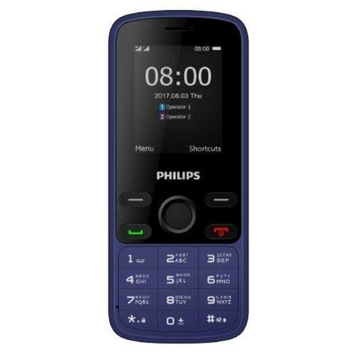 Мобильный телефон Philips E111 Синий