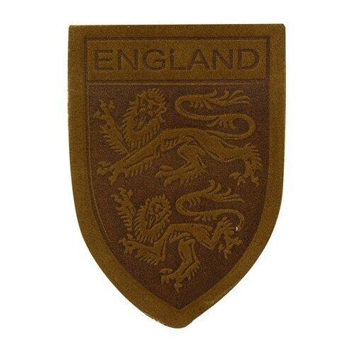 Фото - Термоаппликация Герб England, 3,9x5,5 см, дизайн №11 (цвет: хаки) хаки и герб