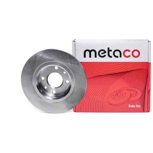 Диск тормозной передний не вентилируемый Metaco 3100-001