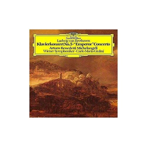 cal p e bach sonata in e flat major wq 65 28 Виниловые пластинки, Deutsche Grammophon, ARTURO BENEDETTI MICHELANGELI - Beethoven: Piano Concerto No. 5 In E-Flat Major, Op. 73 Emperor (LP)