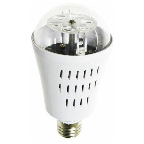 Светодинамическая лампа новогодняя фантазия, 4 RGB LED-огня, проекция 36 м*2, 7.5x14.5 см, цоколь Е27, для дома, Kaeming