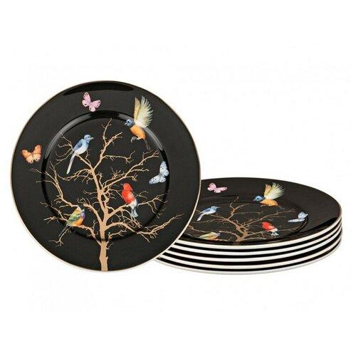 Набор десертных тарелок Lefard из 6 штук, диаметр 21 см (264-753)