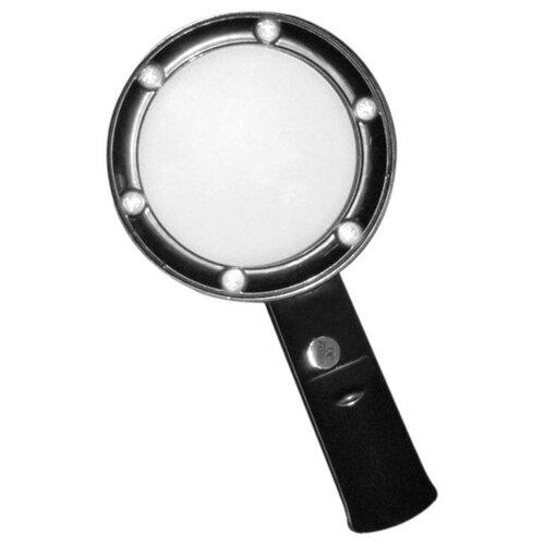 Фото - Лупа Kromatech ZB666-075 5x с подсветкой 6 LED Black 23149b110 лупа bresser national geographic 2 5x 5x 88 мм led