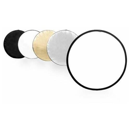 Фото - Светоотражатель Godox круглый 5 в 1, 80 см светоотражатель godox овальный 5 в 1 100x150 см