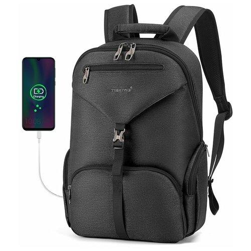 Рюкзак Tigernu T-B3939, черный рюкзак tigernu t b3655 черный 15 6
