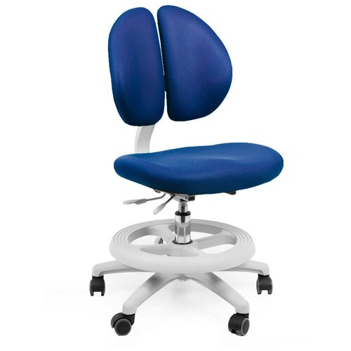 Детское кресло Mealux Duo-Kid синий + чехол