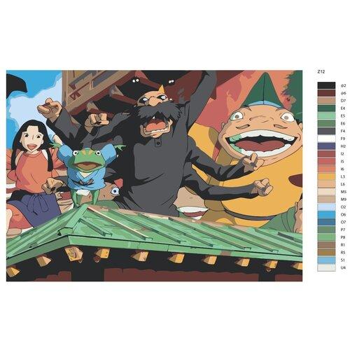 Картина по номерам «Дедушка Камази» 50х70 см (Z-12)