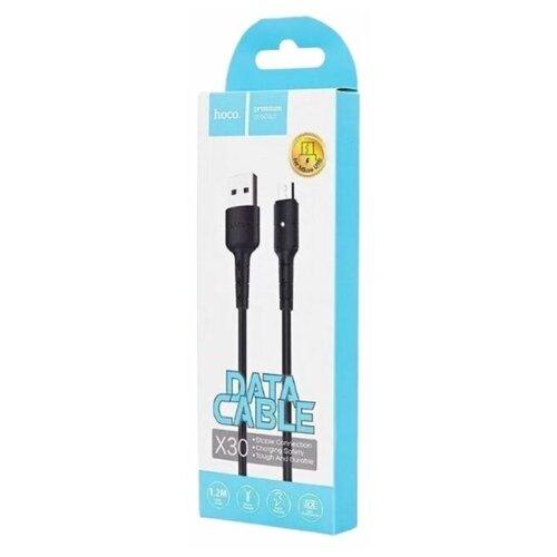 HOCO Кабель Hoco X30 Micro USB Black (120см)