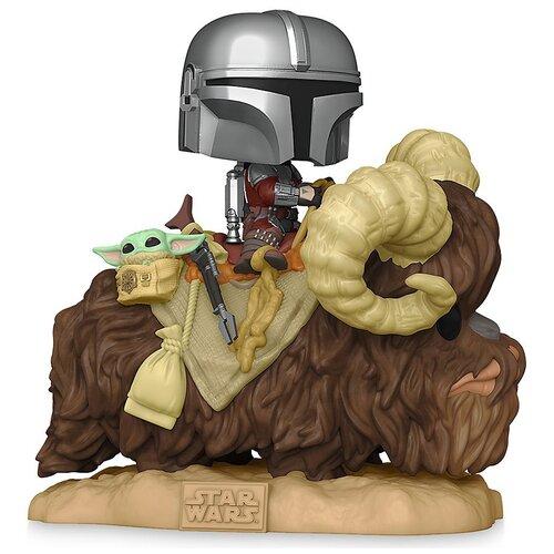 Купить Фигурка Funko POP! Deluxe: Star Wars: Mandalorian with Child on Bantha, Игровые наборы и фигурки