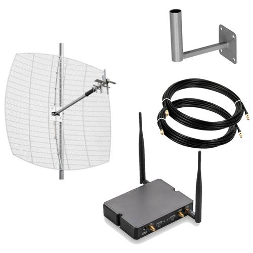 Усилитель интернет сигнала 3G / 4G LTE для дачи до 40 км