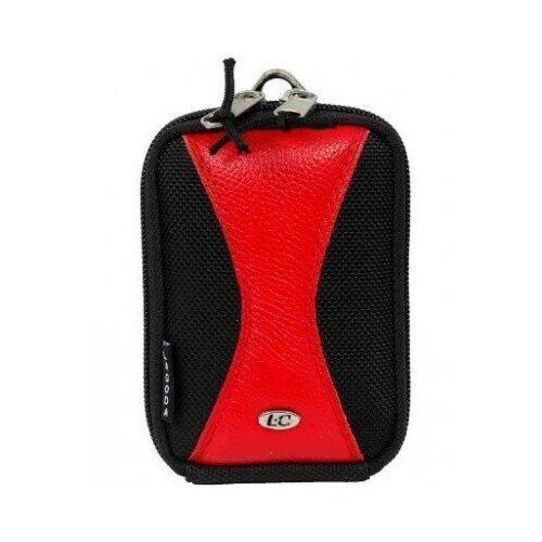 Фото - Сумка для компактного фотоаппарата Lagoda SPORT-239 Черно-красная сумка для компактного фотоаппарата lagoda alfa 019 черно серая с полосой