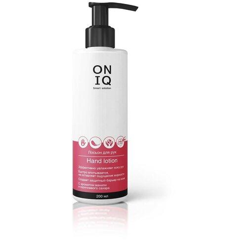 ONIQ ONIQ, лосьон для рук с ароматом ванили и коричневого сахара, 200 мл
