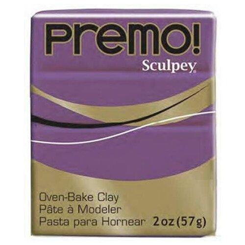 Купить Sculpey Набор полимерной глины Sculpey Premo 57 г фиолетовый (PE02 5107 фиолетовый), Глина