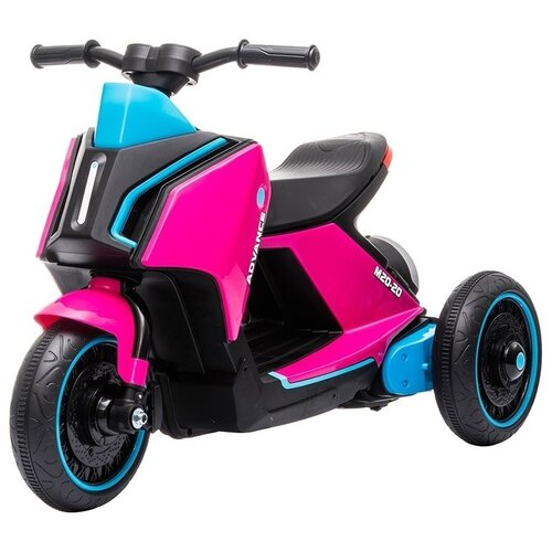 Купить Детский электромобиль скутер трицикл BMW Concept Link Style 6V 2WD - HL700-3-PINK, Harleybella, Электромобили