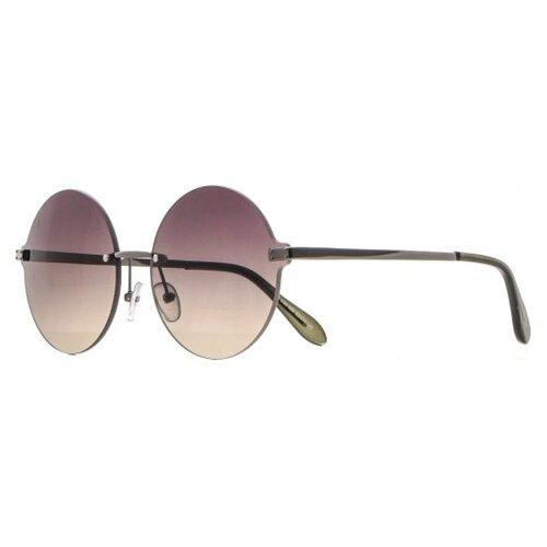 FURLUX / Солнцезащитные очки женские / Оправа круглая / Защита UV400 / Подарок/FUS372/C32-969
