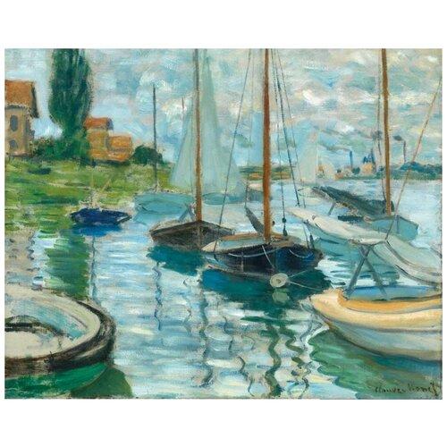 Пазл Pomegranate 1000 деталей: Клод Моне: Парусные лодки на Сене