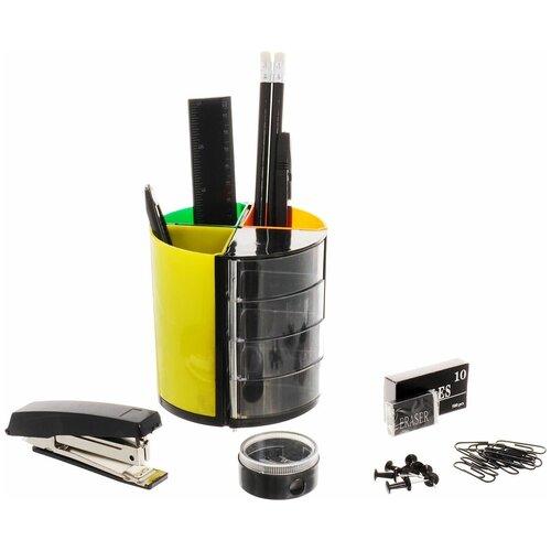 Фото - Настольный офисный набор Витраж, 13 предметов набор настольный dolce costo 13 предметов