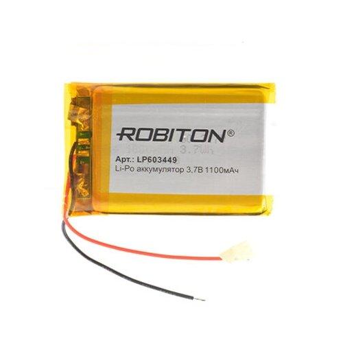 Фото - Аккумулятор ROBITON LP603449 3.7В 1100mAh аккумулятор robiton lp501335