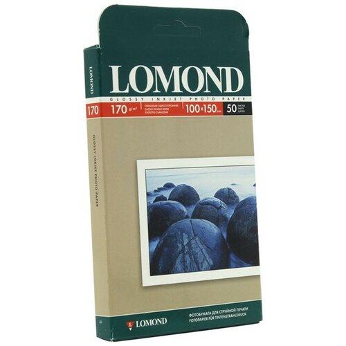 Фото - Фотобумага Lomond 170g/m2 глянцевая односторонняя 50 листов фотобумага lomond 100x150 180g m2 матовая односторонняя 50 листов 102063