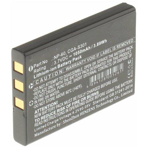 Фото - Аккумулятор iBatt iB-B1-F139 1050mAh для Acoustic Research, Casio, Drift, FujiFilm, HP, Kodak, Nevo, Olympus, One For All, Panasonic, Pentax, Praktica, Samsung, Sony, Toshiba, Universal, Yaesu NP-60, SLB-1137, FNB-82Li, SLB-1037, CS-NP60FU, аккумуляторная батарея ibatt 850mah для pentax praktica samsung klic 7005 np 40n
