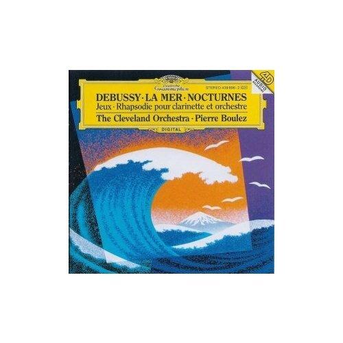 debussy debussymaurizio pollini preludes 2 lp Виниловые пластинки, Deutsche Grammophon, PIERRE BOULEZ - Debussy: La Mer; Nocturnes (LP)