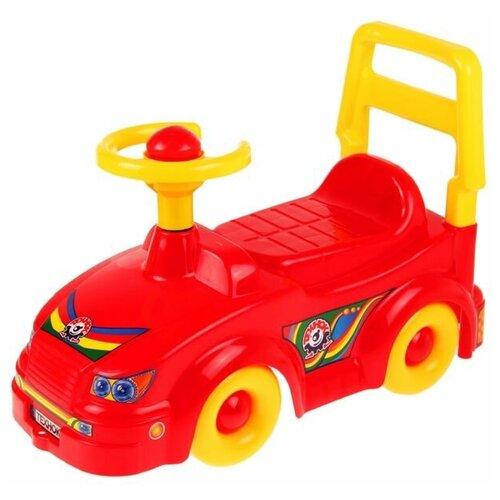 ТехноК Игрушка «Автомобиль для прогулок» - ТехноК, с гудком-пищалкой, микс