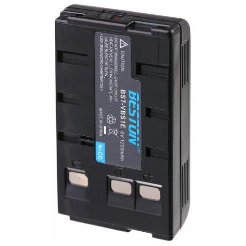 Аккумулятор для видеокамеры Panasonic BESTON BST-VBS1E, NI-CD, 6 В, 1200 мАч