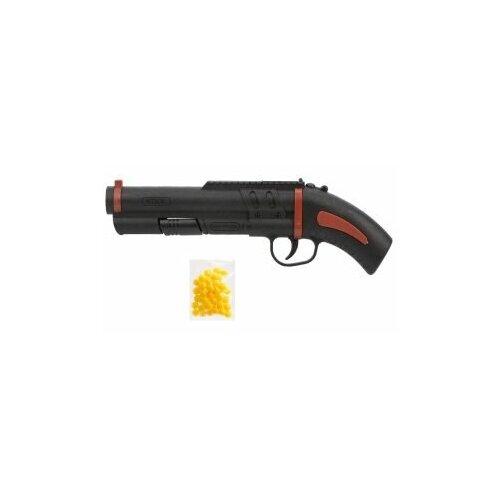 Пистолет механический, в комплекте: пластмассовые пули пакет 1шт. Shantou Gepay, арт.ES775-180PB пистолет shantou gepai call of