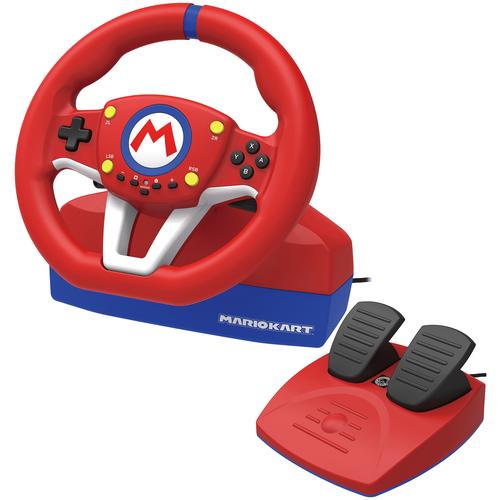 Руль HORI Mario Kart Racing Wheel Pro + педали для Nintendo Switch
