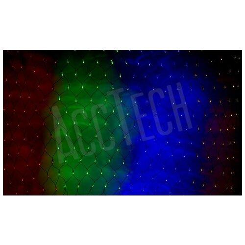 Фото - Гирлянда светодиодная NEON-NIGHT сеть 2,0 х 1,5 м мульти светодиодная уличная гирлянда бахрома neon night синего свечения 2 4х0 6 м 76 led