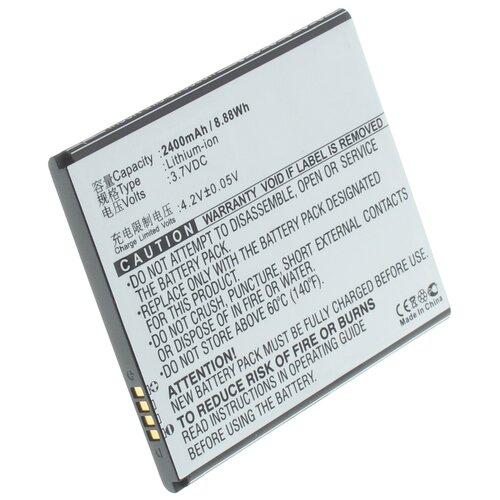 Аккумуляторная батарея iBatt 2400mAh для TBW7815