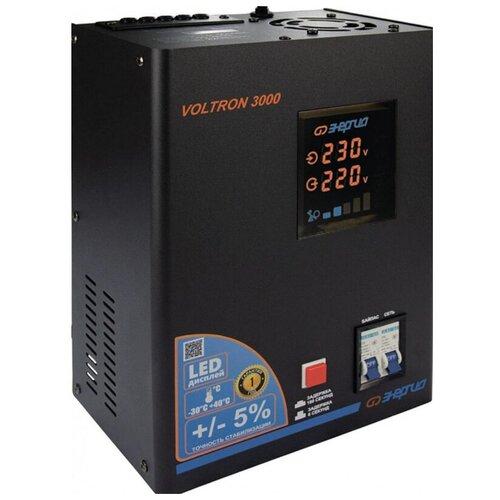 Стабилизатор напряжения энергия VOLTRON-3000 (2400Вт, клеммы/клеммы )