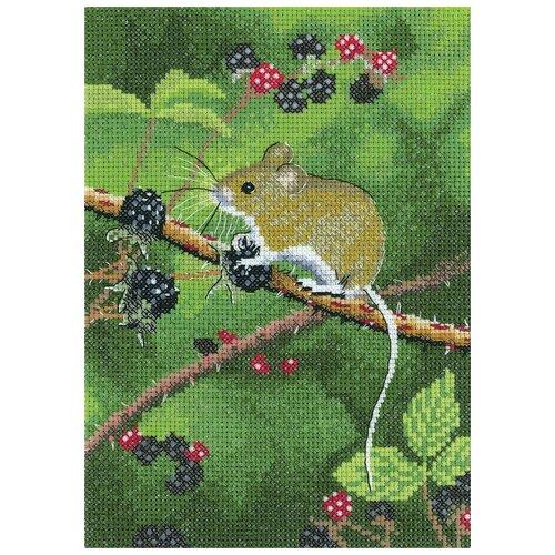 Набор для вышивания Лесная мышь HERITAGE NAWM1498E