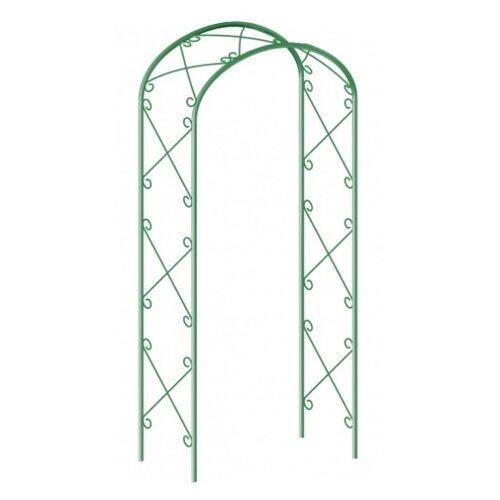 Арка PALISAD садовая декоративная для вьющихся растений 69123, 227 х 128 см зеленый