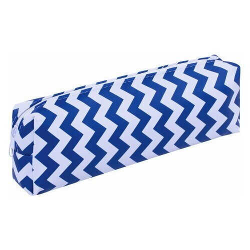 Купить Пенал-косметичка пифагор, мягкий, WAVE , прямоугольный, 20х7х4 см, 229264, Пифагор, Пеналы
