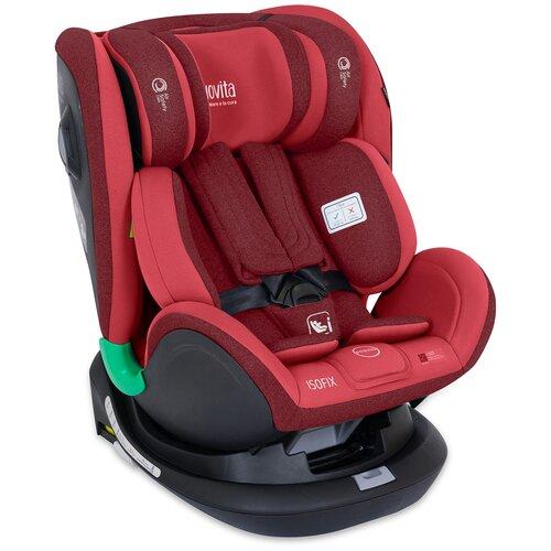 Автокресло группа 0/1/2/3 (до 36 кг) Nuovita Maczione NiS2-1, красный автокресло colibri группа 0 цвет красный