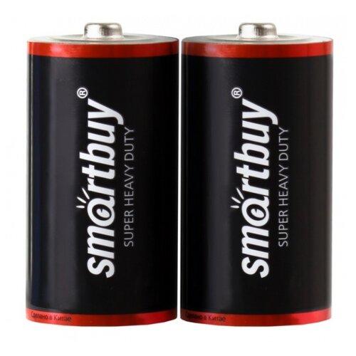 Фото - Батарейка SmartBuy R14 (C), 2 шт. батарейки panasonic c r14 пленка 2 шт
