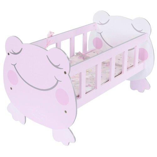 Фото - 55134 Кроватка для куклы с аксессуарами серии Мария,49,5 см кроватки для кукол decuevas с аксессуарами мария 55 см