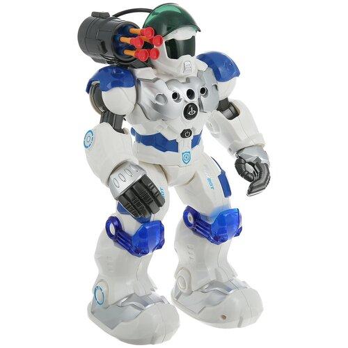 Робот на радиоуправлении JUNFA Пультовод свет, звук, движение, в коробке, 32х15х37 см,ZY831231 роботы junfa робот на радиоуправлении пультовод