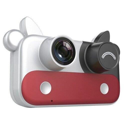 Фото - Детский цифровой фотоаппарат, красный детский цифровой фотоаппарат собачка розовый kids camera pink